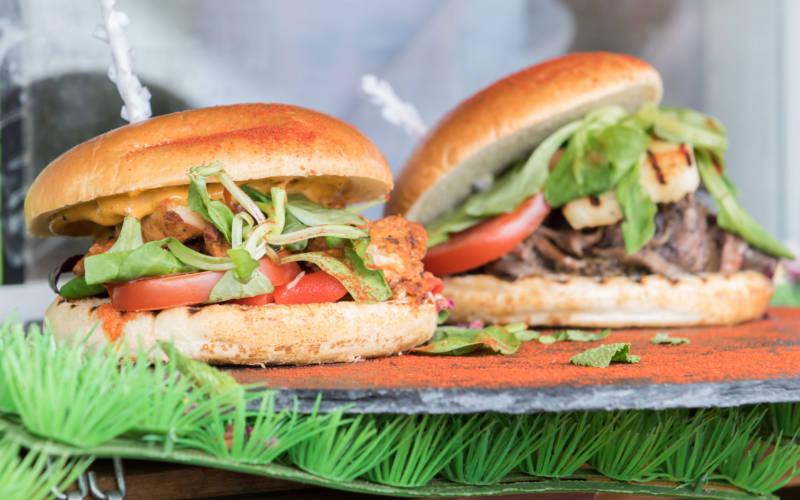Feast 2016 burgers!