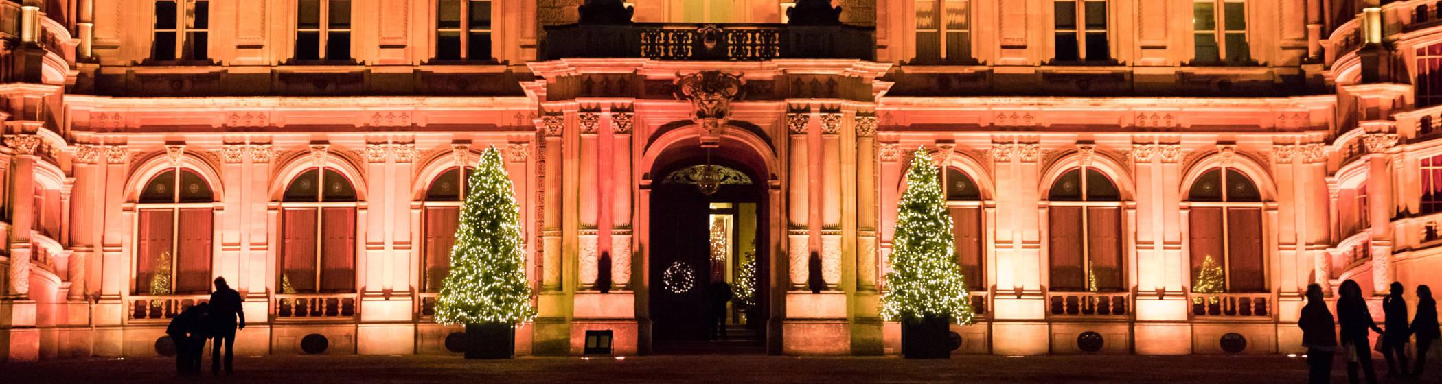 House lit for Christmas 2016