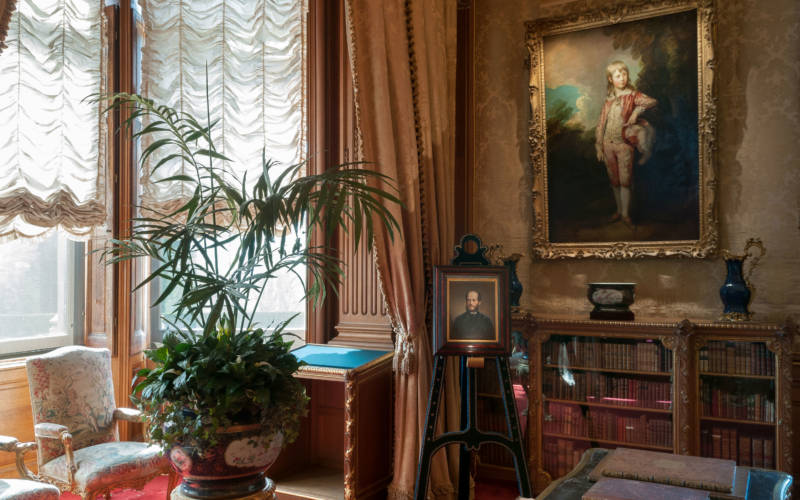 Morning Room and Gainsborough's Pink Boy