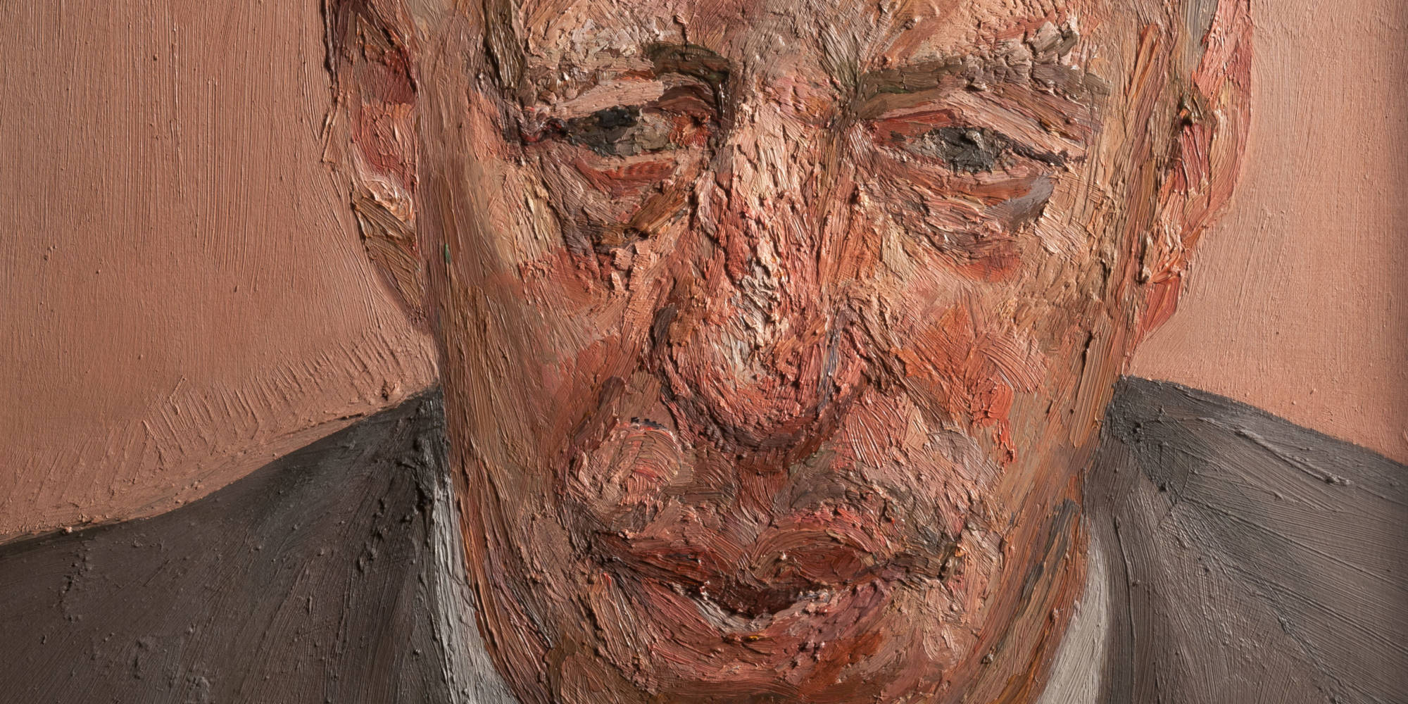 Lord Rothschild painted by Lucien Freud