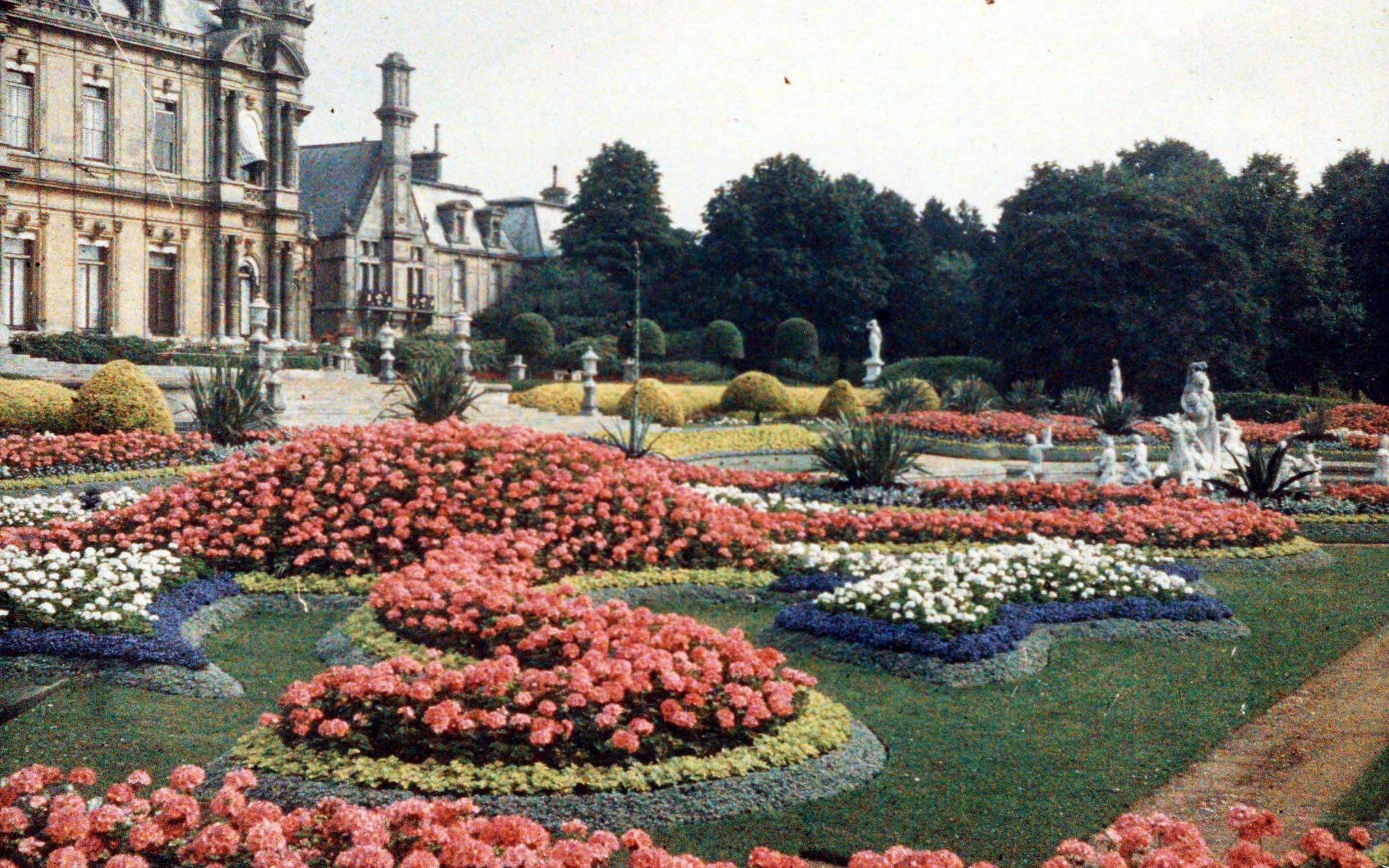 The parterre in 1910