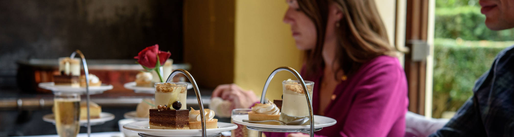Afternoon tea in the Manor Restaurant