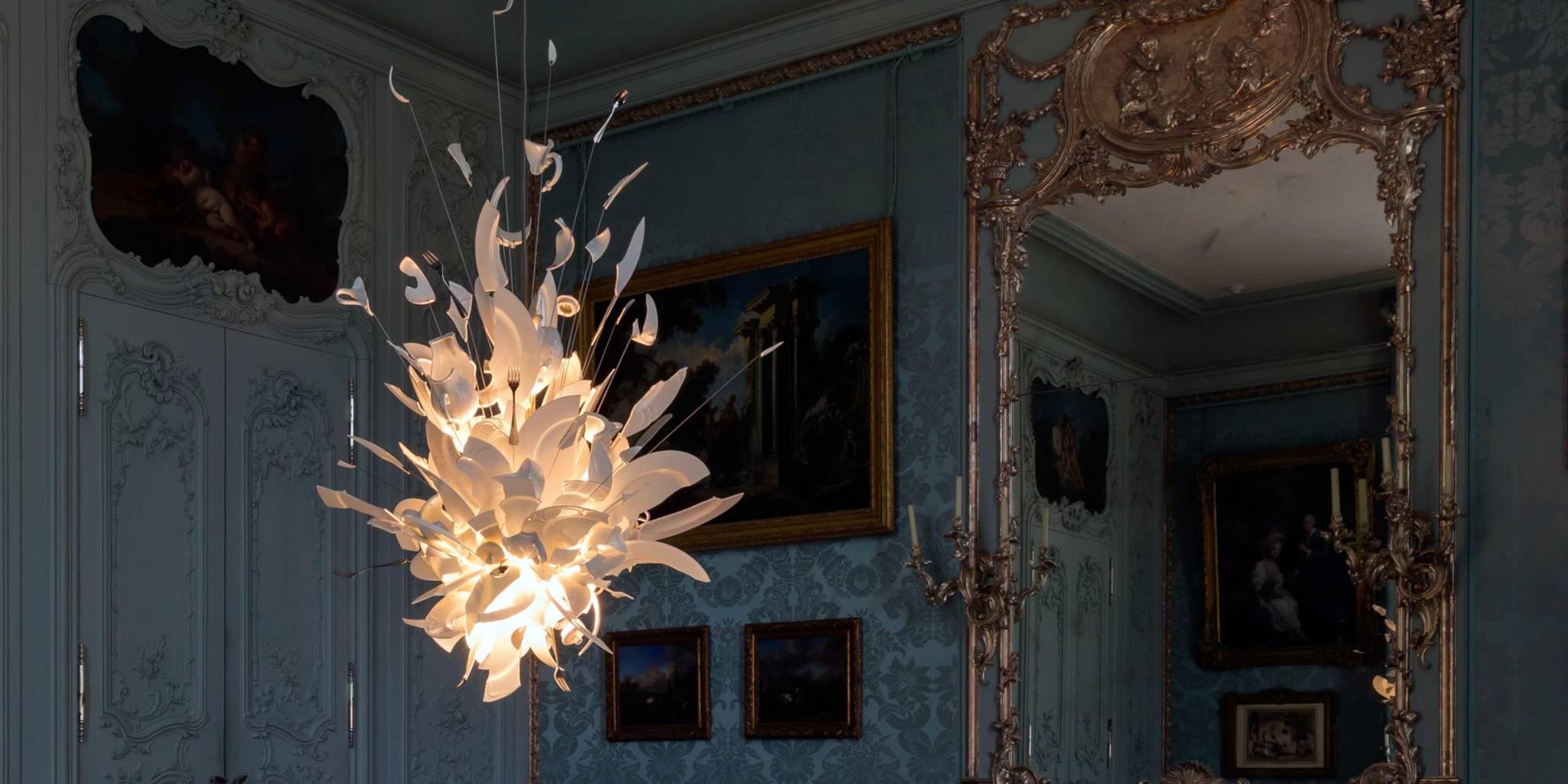 The Blue Room, Waddesdon Manor