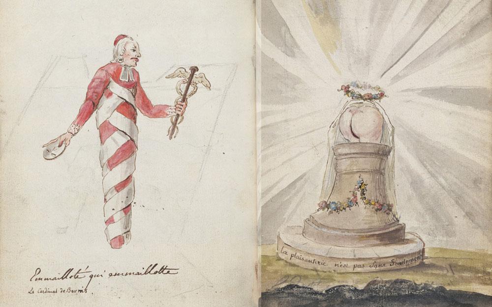 Charles-Germain de Saint-Aubin, Emmailloté qui emmaillotte, 1758-1775, acc. no. 675.280
