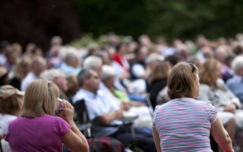 Enjoy outdoor theatre in the grounds at Waddesdon