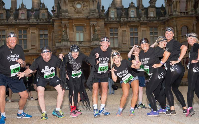 Spooky Sprint participants
