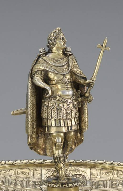 The Vespasian figure from the Aldobrandini Tazze