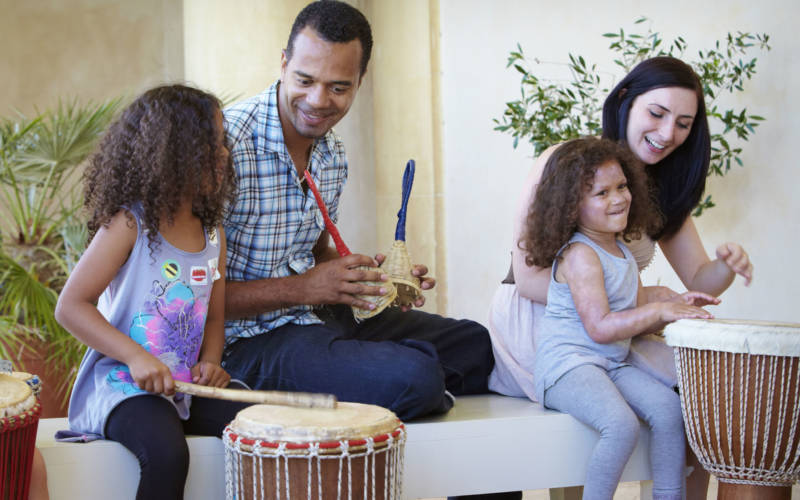Let your children make some noise this summer with our fun-filled workshop that explores African and Latin music cultures.