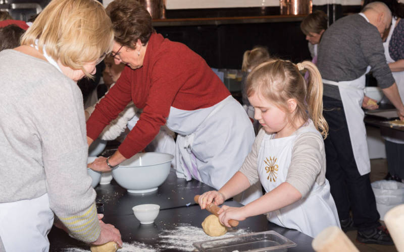 Family cookery school during february half term