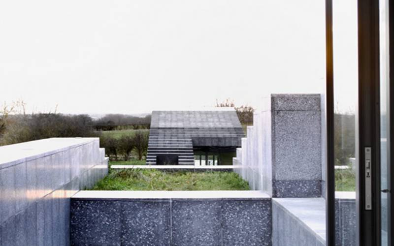 Rooftop view of Flint House