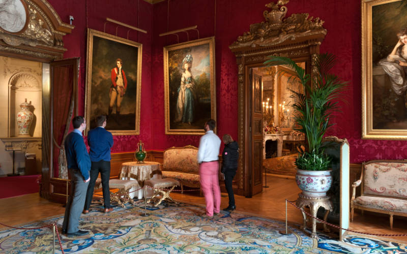The Red Drawing Room