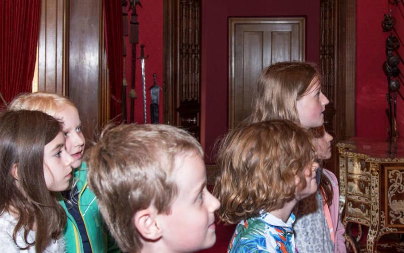 Behind the scenes children's tour
