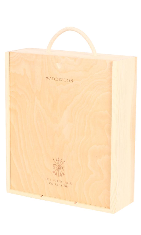Wooden Wine Presentation Box Triple