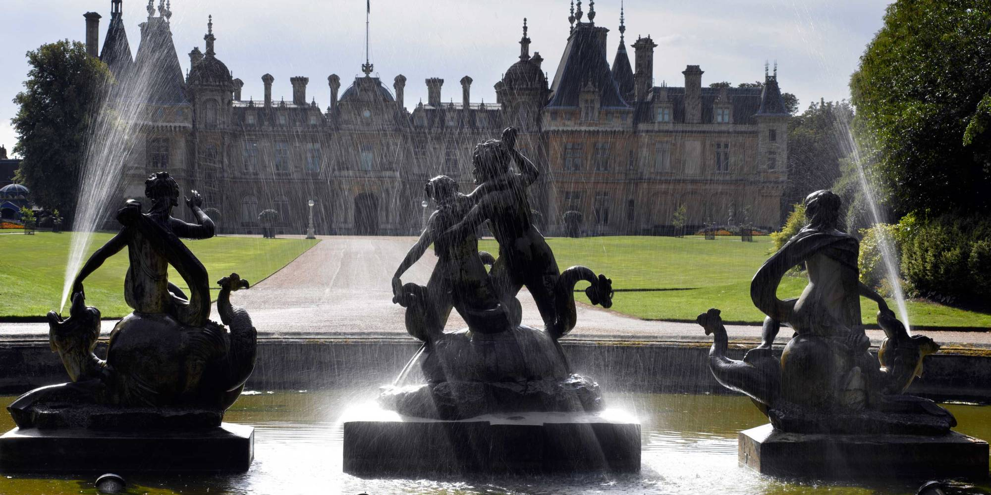 North Fountain, Waddesdon Manor