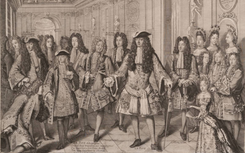 June's almanac - Duke of Anjou declared King of Spain, 1701
