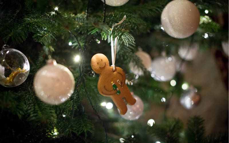 Ginger bread man tree decoration