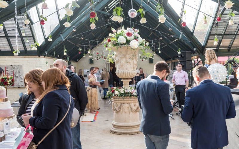 Exhibitors at the Dairy for Wedding inspiration day