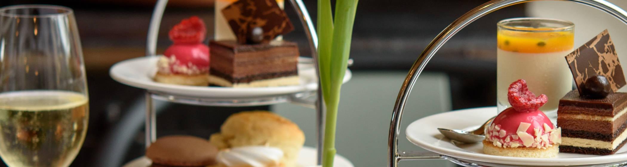 Afternoon tea close up