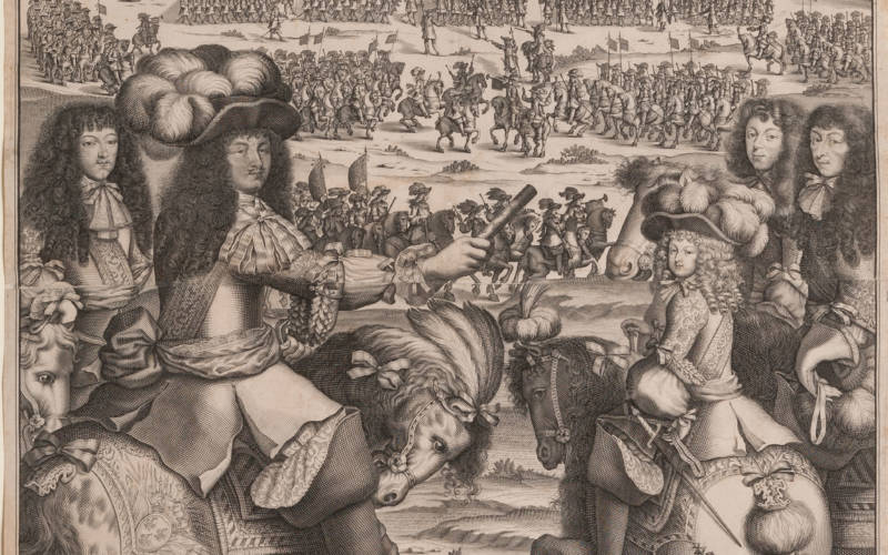 April's almanac - The Royal March, 1672