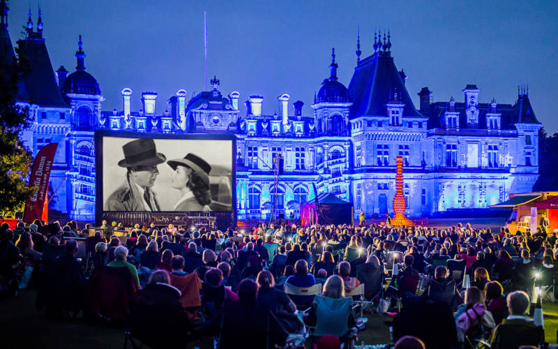 Enjoy outdoor cinema in front of the Manor with Luna Cinema