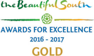 the beautiful south awards for excellence 2016-2017 gold winner