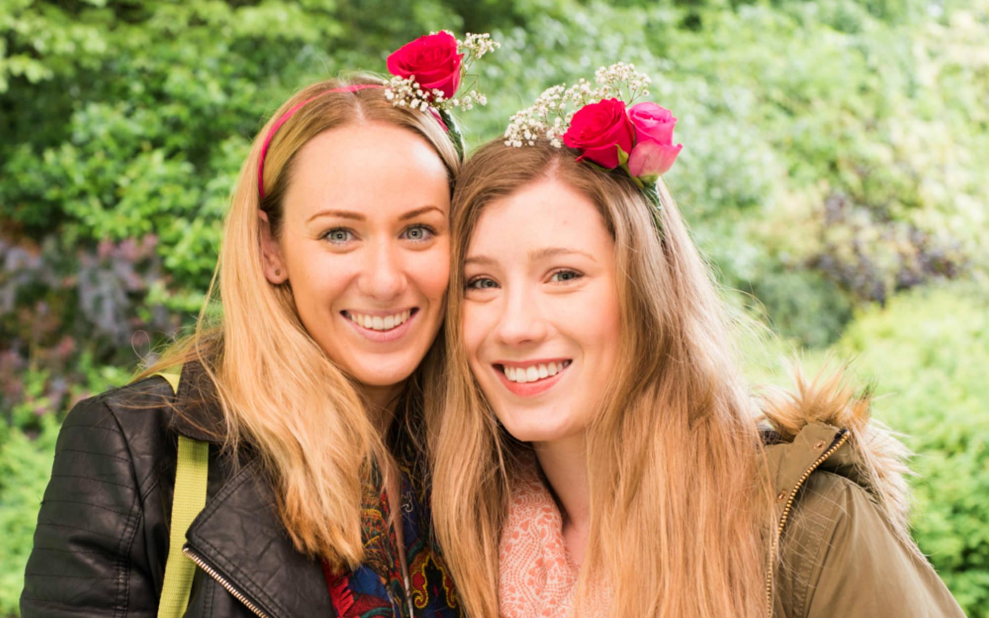 girls at Feast at Waddesdon
