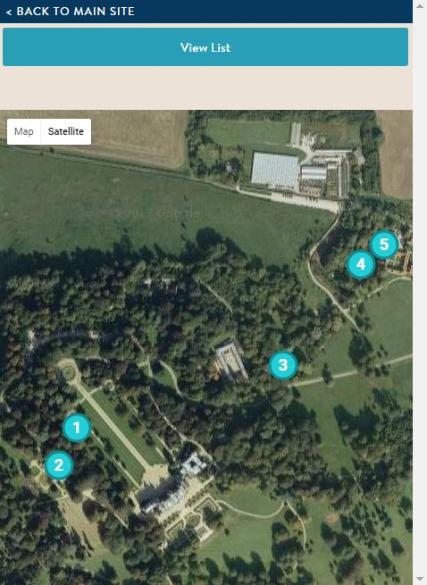 Pulham trail mobile satellite map