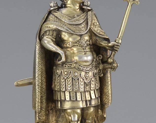 22. Vespasian figure