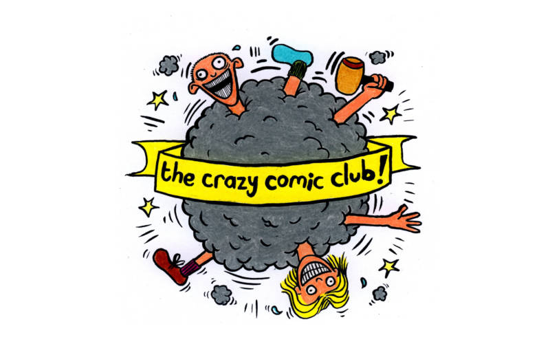 The Crazy Comic Club logo
