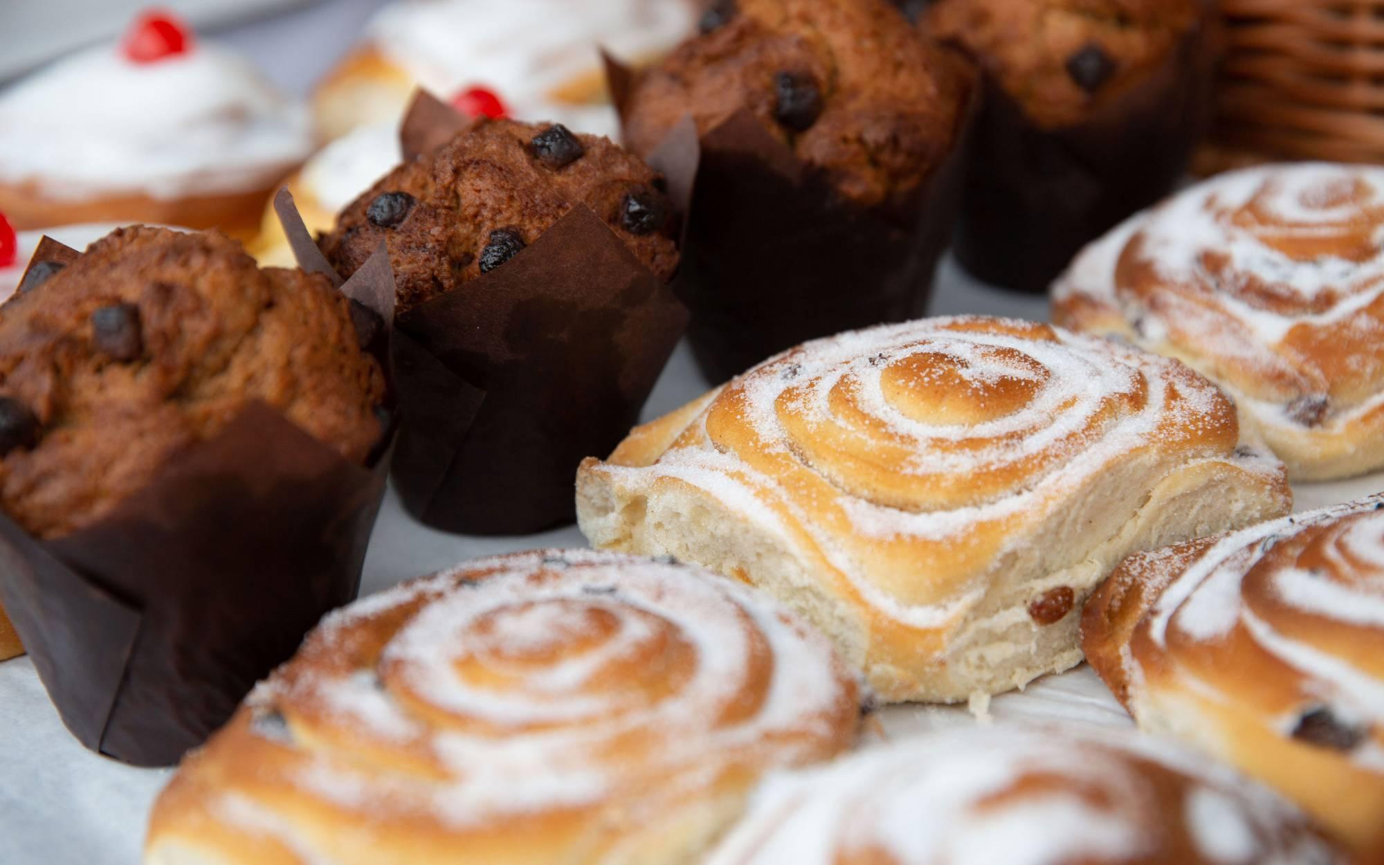 Pastries at the Artisan Food Market