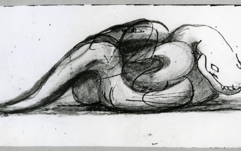 Sketch of a snake
