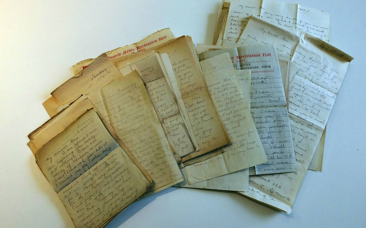 Letters discovered at the Five Arrows Hotel