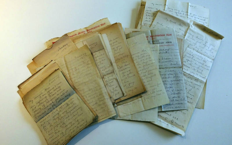 From the Falklands to a cat called Trixie: cataloguing Dorothy de Rothschild's letters