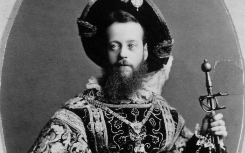 Baron Ferdinand in Fancy Dress circa 1880