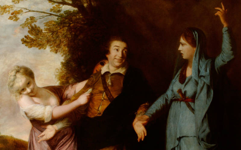 Reynolds, David Garrick between Tragedy and Comedy - 3000x1875