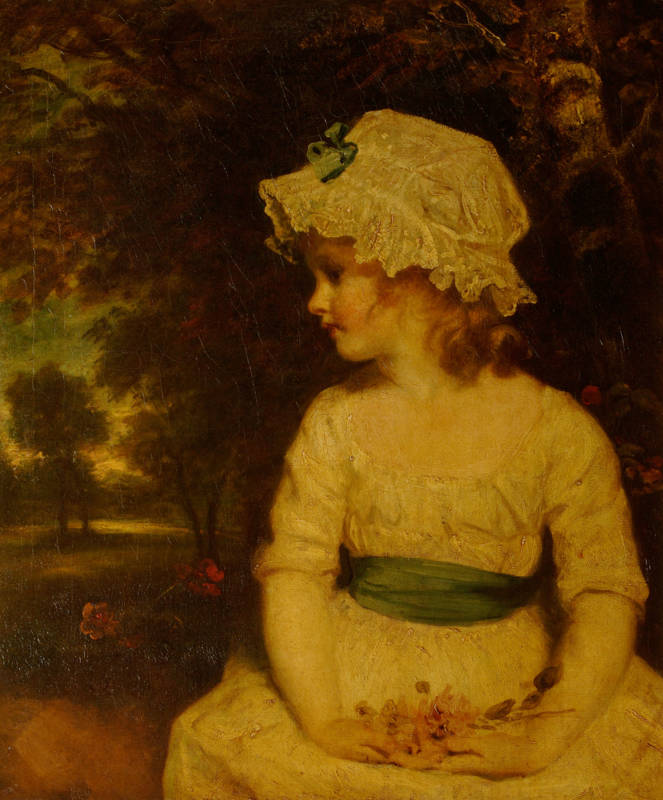 Reynolds's 'Miss Gwatkin' - exhibited at the Royal Academy in 1789