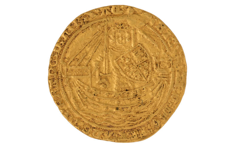 A Richard II noble 1377-1399