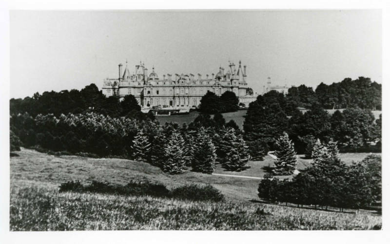 1997 revived auto-chrome of Waddesdon Manor post 1889 in Centenary album