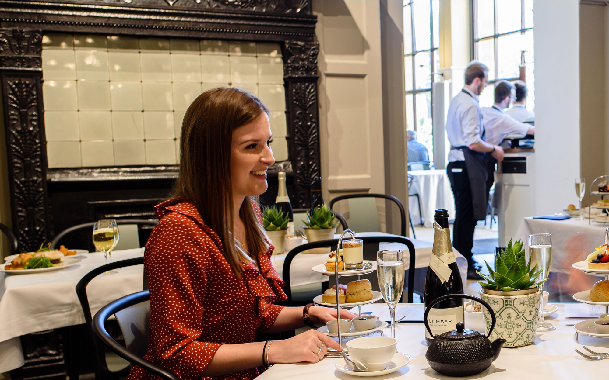 Gluten free afternoon tea in the Manor Restaurant