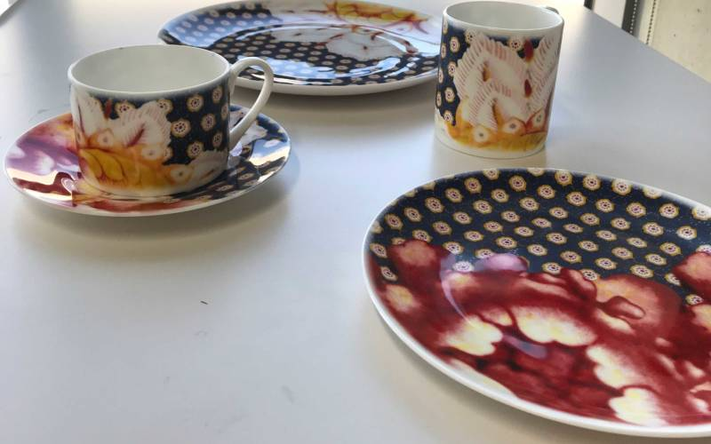 Royal College of Art students create Waddesdon-inspired ceramics