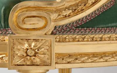 Chair by Georges Jacob made for the comte d'Artois