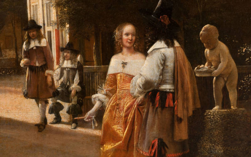 Collection highlights, 2564_Pieter de Hooch painting_1000pix_lowres