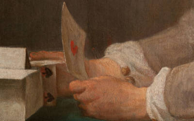 John-Simeon Chardin, Boy Building a House of Cards, 1735