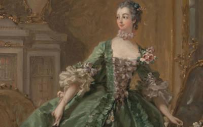 François Boucher, Madame de Pompadour, c. 1750