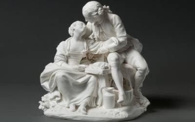 Sèvres porcelain manufactory, Annette et Lubin, c. 1764