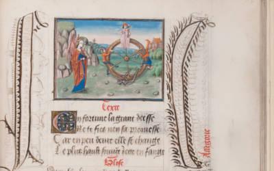 Christine de Pizan, Epitre d'Othéa; Les Sept Sacrements de l'Eglise, c. 1455