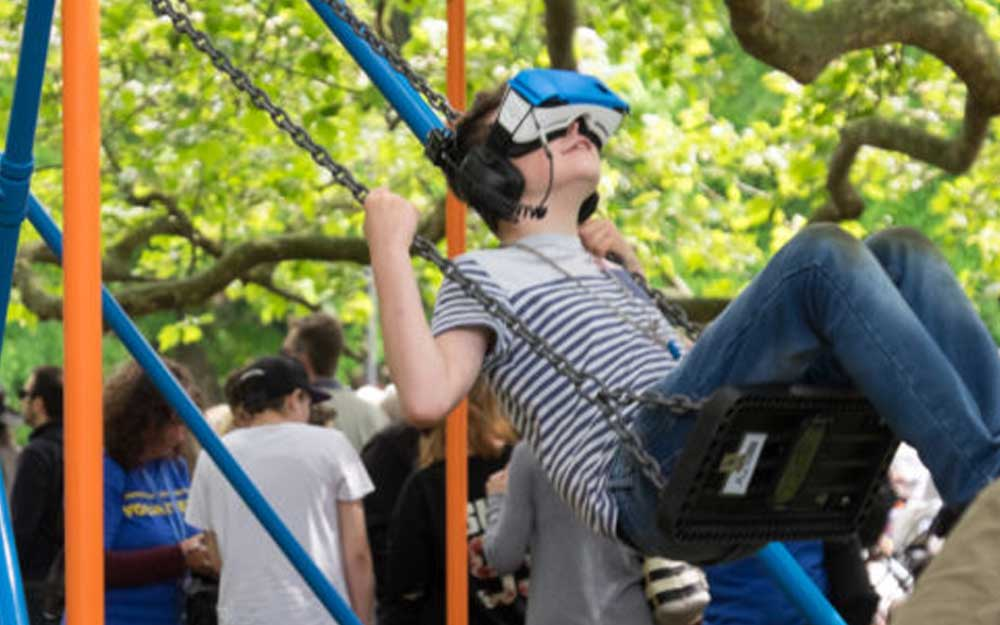 The virtual swing