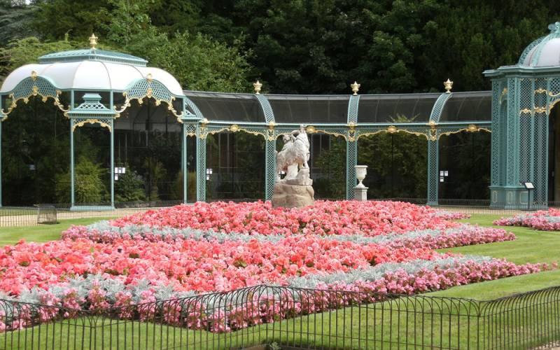 Aviary garden