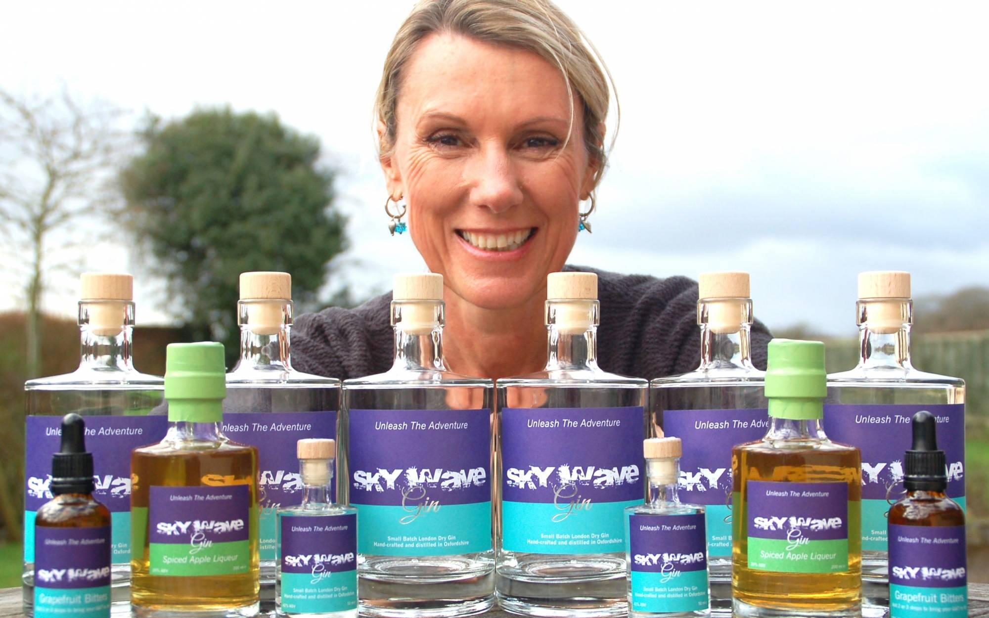 Rachel Hicks, Sky Wave Gin