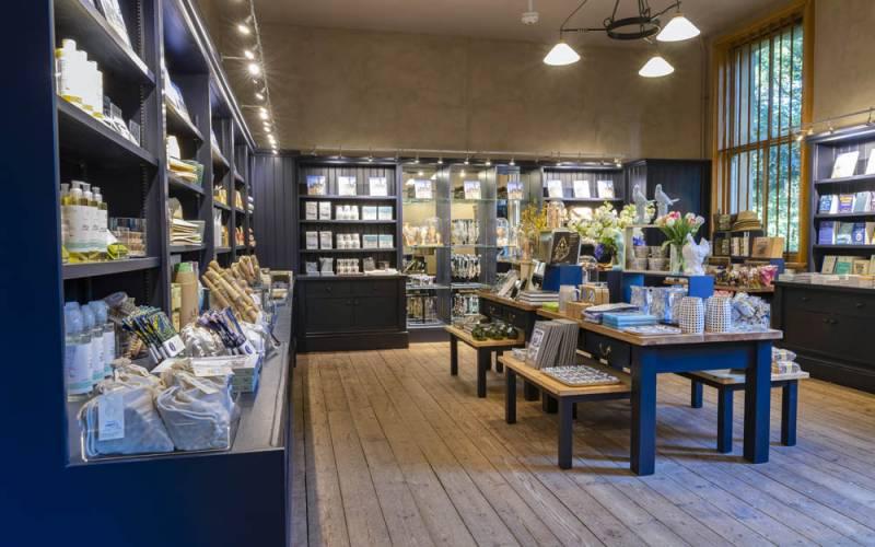 Manor shop interior